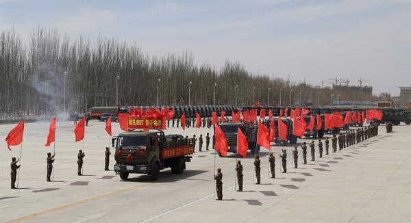 总后勤部领�9d#yce_军报证实:青藏兵站部已由原总后勤部转隶陆军