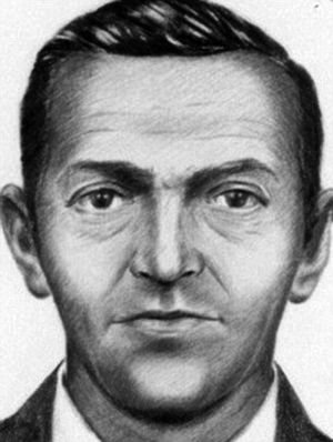 警方描绘出的劫机犯肖像。
