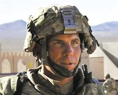 涉嫌在阿富汗枪杀平民的美军士兵罗伯特-贝尔斯。但阿方调查称,杀害平民的有15至20名美军士兵。