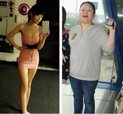 胖子减肥前后对比照_胖子逆袭对比照_男生逆袭前后对比照_逆袭对比照_鹊桥吧