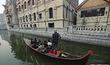 """大連現山寨版""""威尼斯水城"""" 斥資50億明年開放"""