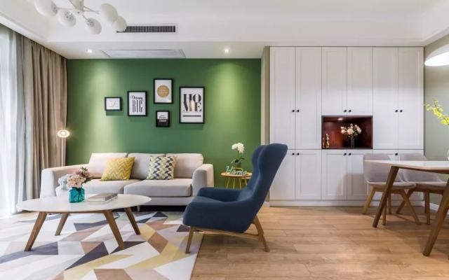 90㎡新房装修,收纳柜成了家里的亮点,简单好看又实用!