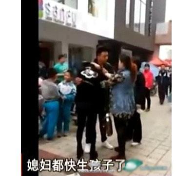 女人出轨是男人的错_家暴啊!孩子连着被揍8小时!_新闻_腾讯网