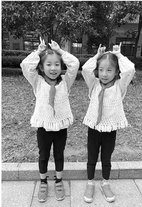 一年級來了10對雙胞胎 7對要求分在同一班
