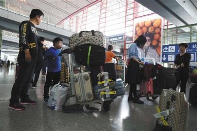 北京海关:查验未因新政变严 机场未大规模抽检