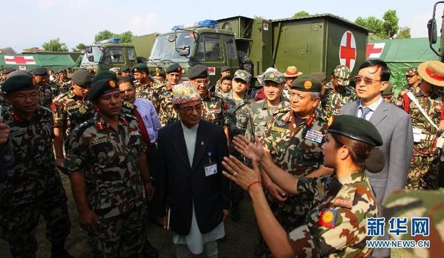 中國防長訪問尼泊爾談軍事合作 印度媒體緊密關注