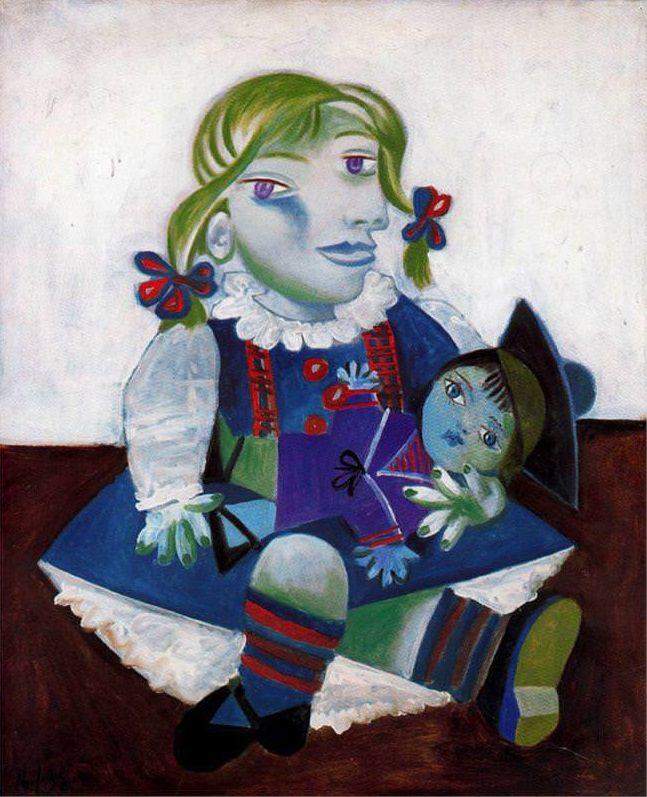 所有画家中,毕加索最自信
