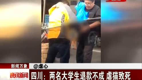 四川农业大学两学生虐猫致死