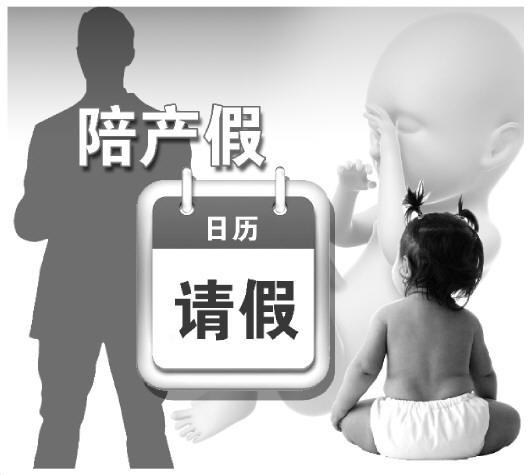 """在当今中国社会,""""陪产假""""往往无法落实。(转自法制日报)"""