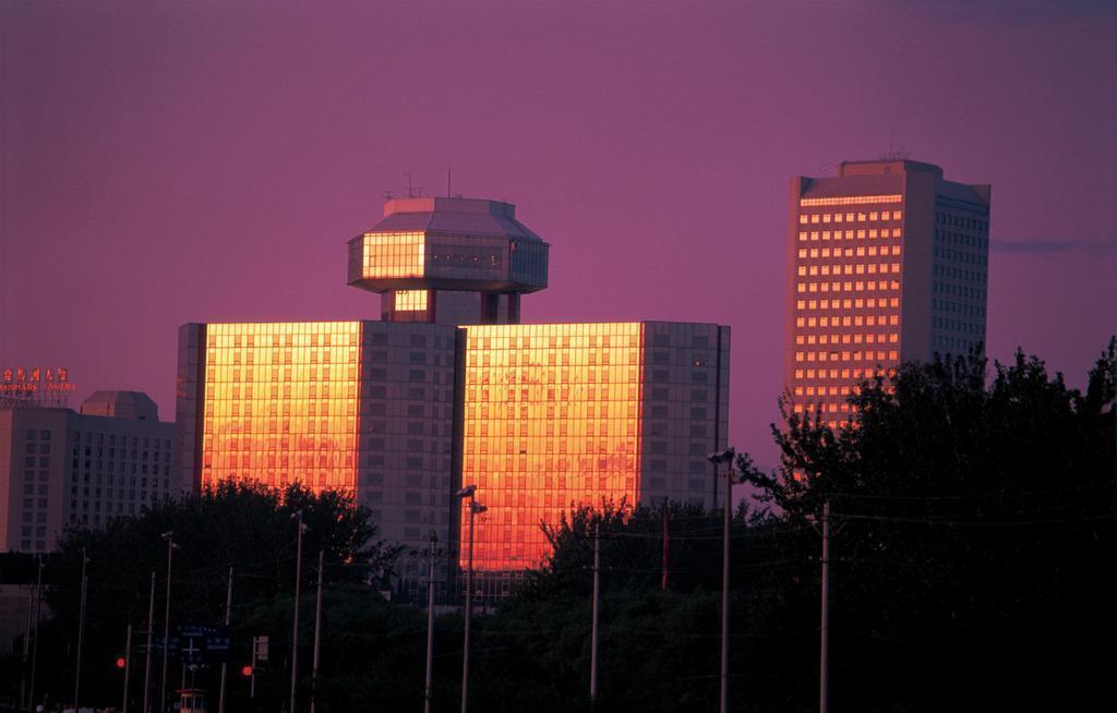 1984年建成的北京长城饭店