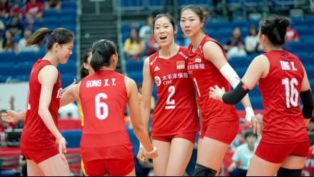 世界杯4连胜!中国女排3-0多米尼加 稳居积分榜第一