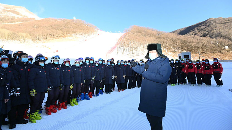 Xi Focus: Xi inspects Beijing 2022 preparatory work
