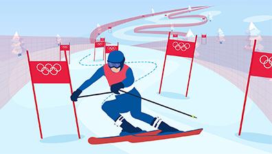 高山滑雪:冬奥会皇冠上的明珠