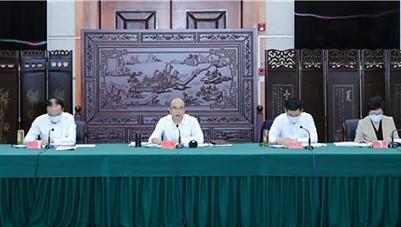 许勤主持召开河北省w88下载会运行保障指挥部专题会议