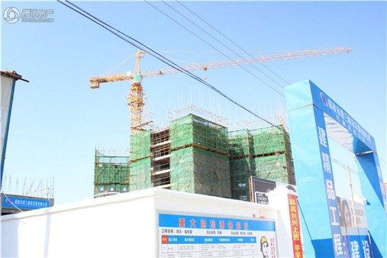 萬道克拉公館:2#樓建至12層 2-3房火熱銷售中