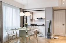 103平的北欧风小三房,低调的灰色系为主,好清新