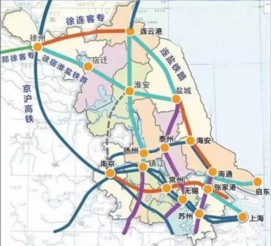 盐城-南通铁路计划年内开建 沪未来有望高铁通盐城