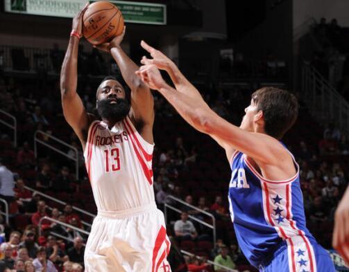 火箭一項數據列NBA第一 能狂勝27分全靠這招