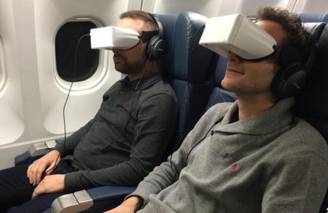 虚拟现实新模式:坐飞机再也不怕邻座骚扰了