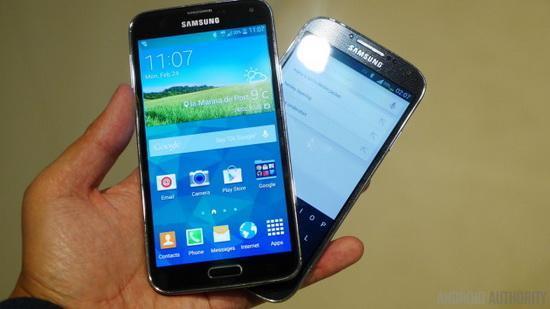 三星GALAXY S5對比S4:換手機意義不大
