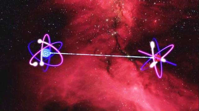 量子纠缠态_中国科学家首次实现量子态隐形传输 证实城际量子传输可行_科技 ...