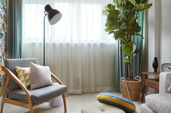 客厅装修窗帘颜色搭配技巧