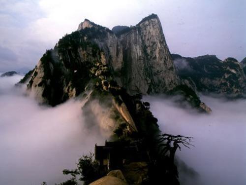華山之險圖片