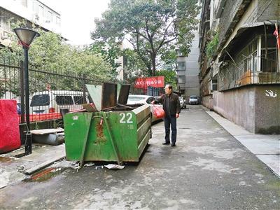 """西安垃圾分类实施月余 个别小区""""遭冷遇"""""""