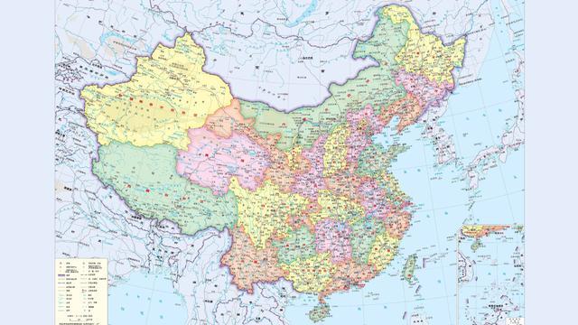 4k的部分中国地图