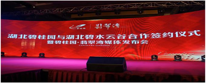 赤壁历史性的一步 中国地产十强 碧桂园首驻赤壁