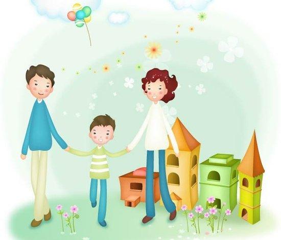 我的幸福家庭作文_写两篇关于协助父母做些家务的作文,并能体现家庭成员之间的