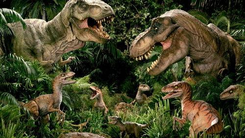 恐龙世界_恐龙来袭 本周末恒大夏威夷演绎侏罗纪世界